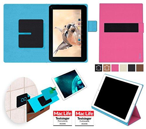 reboon Blaupunkt Endeavour 1001 DVBT Hülle Tasche Cover Case Bumper | in Pink | Testsieger