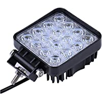 LED 18W/36W/48W/72W/234W/306W lámpara de trabajo de luz de trabajo 1800LM-30000LM 67IP Copia de seguridad Luces – Tractor digger (4DFW48W)
