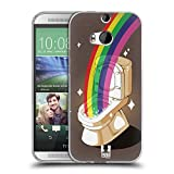 Head Case Designs Topf Mit Gold Random Regen Soft Gel Hülle für HTC One M8 / M8 Dual SIM