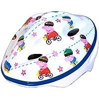 Disney Peppa Pig Protective Kids Cycling Helmet White 48-54cm