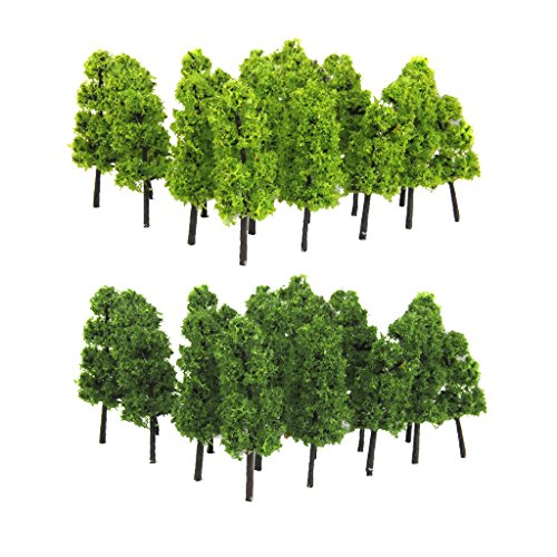 model-train-railroad-scenery-trees-1200-pack-of-20pcs-dark-green-light-green