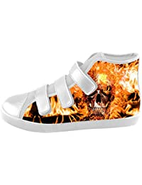 Custom skull Kids Canvas shoes Schuhe Footwear Sneakers shoes Schuhe