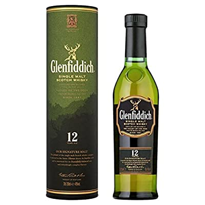 Glenfiddich 12 Year Old Special Reserve Single Malt Scotch Whisky 20cl Quarter Bottle