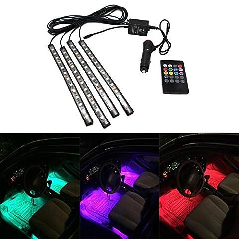 Neon Infrarouge - JOJOO Car Control LED Éclairage intérieur Atmosphere