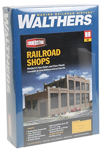 Walthers Cornerstone 933-2970 - Moderne Lokwerkstatt, Gebäude