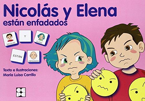 Nicolas Y Elena Están Enfadados. Pictogramas por Maria Luisa Carrillo
