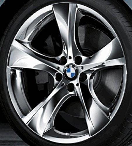 Original BMW Alufelge 3er E90 E91 E92 E93 Sternspeiche 311 Verchromt in 19 Zoll für vorne