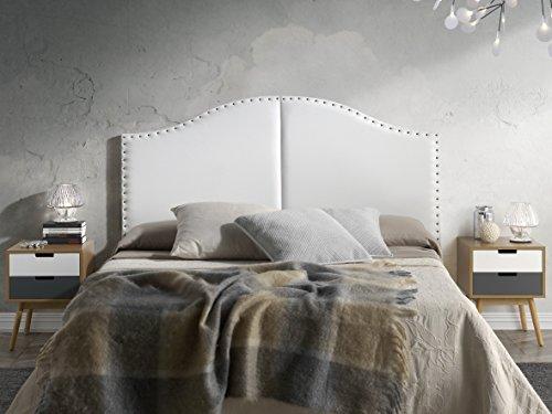 Marckonfort - Lyon Kopfteil für Bett, 160 X 95 Farbe Weiß