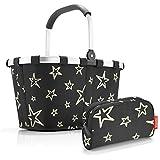 Reisenthel Exklusiv-Set: bk7046 carrybag Stars Plus Gratis ls7046 makeupcase Stars
