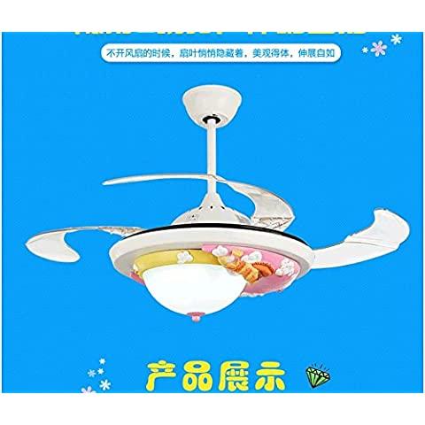 PinWei@ Lampade da soffitto sala per bambini, lampada da soffitto,