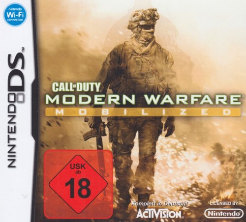 Call Screen (Call of Duty: Modern Warfare Mobilized - [Nintendo DS])