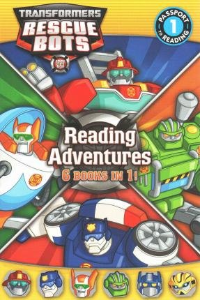 By Hasbro ( Author ) [ Transformers Rescue Bots: Reading Adventures Passport to Reading - Level 1 By Jun-2015 Paperback