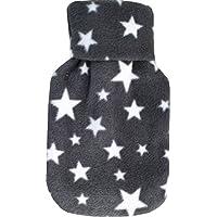 Vagabond Bags Ltd Sterne grau 0,5Liter Wärmflasche und Bezug preisvergleich bei billige-tabletten.eu