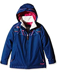 Protest Griffin Jr Veste de ski Fille Earth
