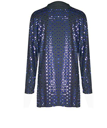 H&F Girls - Top à manches longues - Femme Bleu