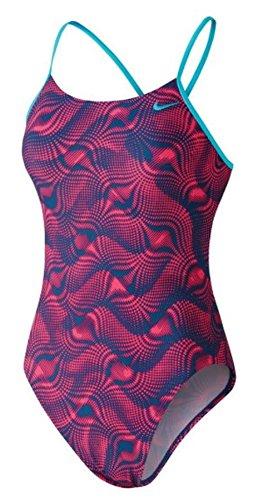 Nike Swim Wave Cut-Out Tank Swimsuit Women Racer Pink Größe DE 34 | US 30 2018 Schwimmanzug (Nike-cut-out Tank)
