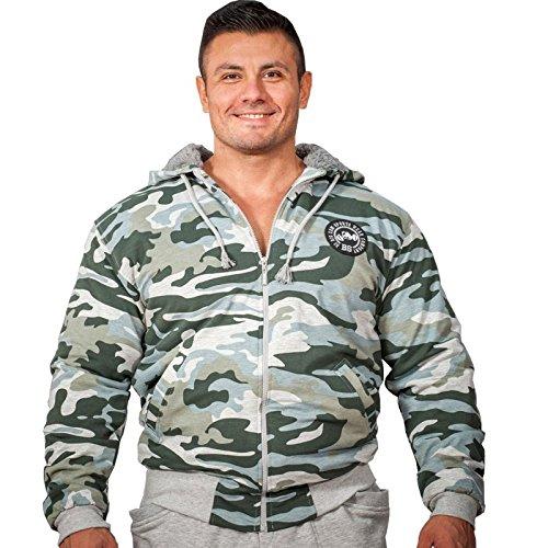 BIG SAM SPORTSWEAR COMPANY Camouflage KAPUZENJACKE Jacke Winterjacke Bomberjacke *4061*