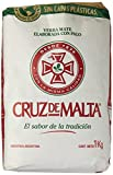 Argentinischer Mate-Tee mit Stengelstückchen, Cruz de Malta, 1kg.