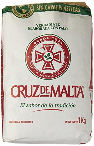 Traditionelle Yerba Mate (Mate Tee Cruz de Malta - 1kg)