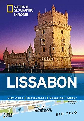 Lissabon erkunden mit handlichen Karten: Lissabon-Reiseführer für die schnelle Orientierung mit Highlights und Insider-Tipps. Lissabon entdecken mit ... Lissabon. (National Geographic Explorer)