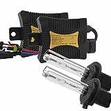 Kit de Conversion au xénon HID 55w Toutes Les Tailles et Couleurs d'ampoule avec Les ballasts numériques H1 / H3 / H4 / H7 / H11 / 9005/9006/880/881 (Style : H7, Wattage : 12000K)