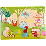 In The Night Garden Pick n Place Wooden Puzzle