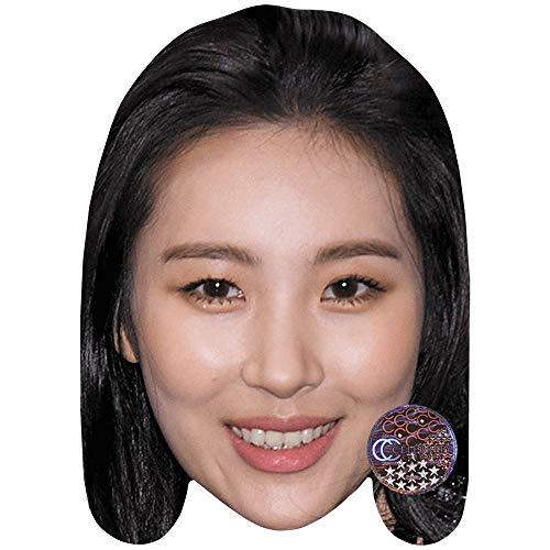 Sunmi (Smile) Maschere di persone famose, facce di cartone