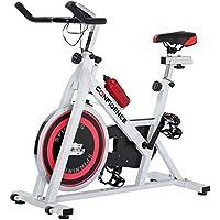 Confidence Pro Indoor Cycling Exercise Bike W/13kg Flywheel & Pulse Senor