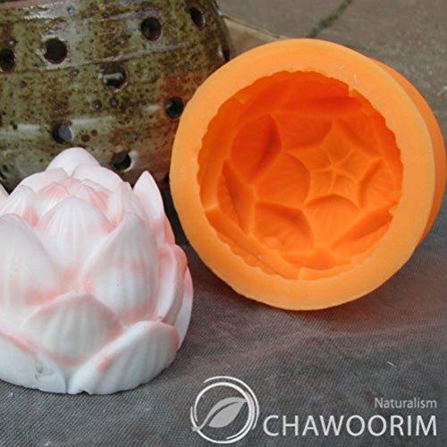 Stampo in silicone per realizzare candele e saponette, a forma di fiore di loto