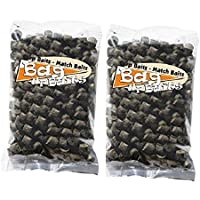 Bag Up Baits '' SPECIAL OFFER PRE DRILLED FISHING BAIT DOUBLE BAIT PACK '' X2 Packs Of Boosted 8mm Boosted Bloodworm Pre Drilled Carp Pellets '' Ideal Fishing Bait For Carp & Barbel '' CONTAINS REAL PURE BLOODWORM HIGHLY ATTRACTIVE FISHING BAITS - One Of The Best Selling Hookbaits For Big Carp & Barbel '' Now only £5.99 For 2 Packs With Free Delivery ''
