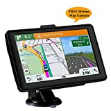 GPS Coches, 5' Navegador GPS para Coche de Mapa de Europa Toda la Vida