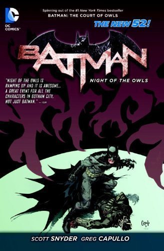 Batman Night of the Owls TP (The New 52) (Batman (DC Comics)) by Various, (2013) Paperback