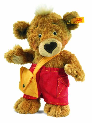 Steiff-25cm-Knopf-Teddy-Bear-Golden-Brown