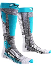 X-Socks Women's Ski Socks Rider 2.0, Grey, Womens, X-SOCKS SKI RIDER 2.0 LADY, Grey
