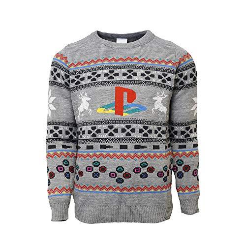 numskull Unisex Playstation Pullover, L