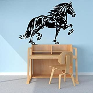 FRIESIAN HORSE Style3 VINYL WALL ART DECAL by ABAK Trading International LLC