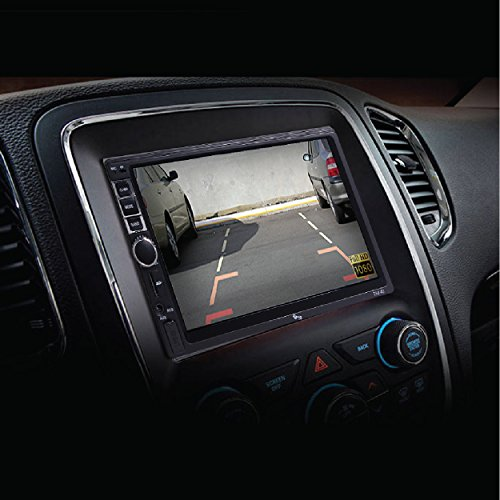 myTVS TAV-40 Car Touch Screen Stereo Player with Bluetooth & Mirror Link + 8 LED Night Vision Parking Camera