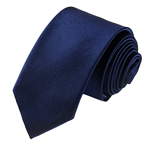 Zhhlinyuan Corbata Hombre roja blanca Multicolores Moda Clasica Elegant Tie 7cm Business Necktie for Men for Husband for Wedding Party - Multi Patterned