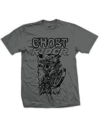 Marvel Comics Ghost Rider-Camiseta Hombre
