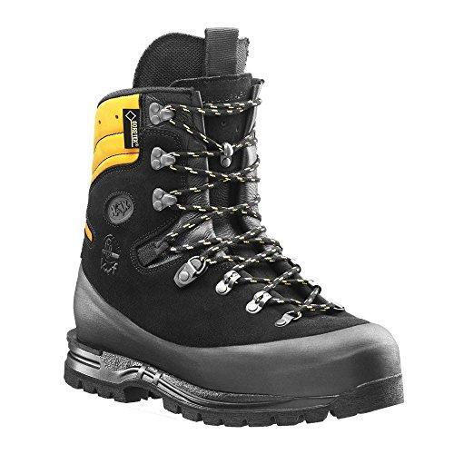 HAIX Protector Alpin Hightech-Schuh für den Einsatz im steilen Gelände mit Schnittschutzklasse 3 und Krallenelement. 42 (Gelände-stiefel Alle Frauen)