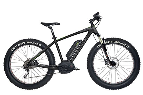 WHISTLE E-Bike Bison 26\'\' 10-V Taglia 46 Bosch CX 36V 250W 400Wh PURION 2018 (Fat Bike Elettriche) / E-Bike Bison 26\'\' 10-S Size 46 Bosch CX 36V 250W 400Wh PURION 2018 (Electric Fat Bike)
