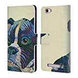 Official Erika Pochybova Dog Animals Leather Book Wallet