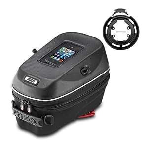 Givi Tankrucksack Set 3d604 + Tanklock-System Ring bf05 Ducati Monster 620 02-06
