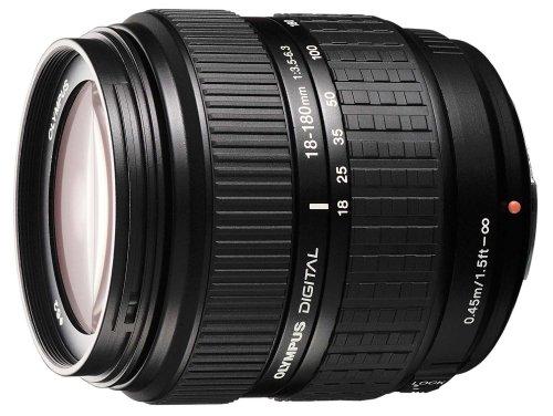 Olympus Zuiko Digital EZ-1818 18-180 mm f3.5-6.3. Zoomobjektiv (Four Thirds, 62 mm Filtergewinde) Olympus E-410 Digitale Slr