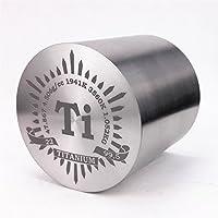 1kg Fein Wenden Titan Metall Zylinder 67× 67mm 99,5% Gravur Periodensystem