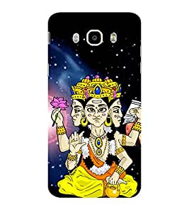 ifasho Designer Phone Back Case Cover Samsung Galaxy On8 Sm-J710Fn/Df ( Cancer Zodiac Sign Luck )