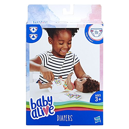 Baby Alive Windeln Pack
