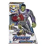 Hasbro Marvel Avengers - Endgame Hulk Pugni Invincibili, Action Figure Elettronica con 20 Suoni e Frasi [Versione Inglese]