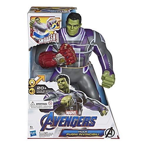 Avengers - Figura electrónica Hulk (Hasbro E3313EW0)