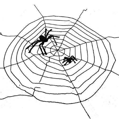 Halloween Zubehör/Haunted House Dekoration/Bar-Zubehör/Plüsch Spinnennetz-A